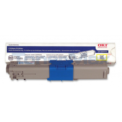 OKI C330DN TONER CARTRIDGE YELLOW